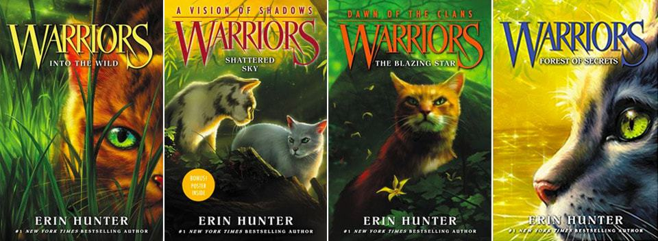 warriors cat books