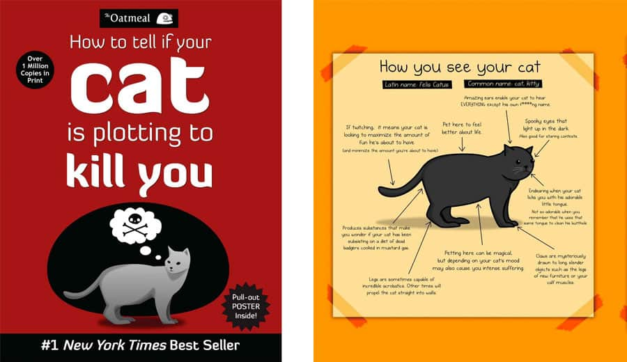 cat oatmeal book