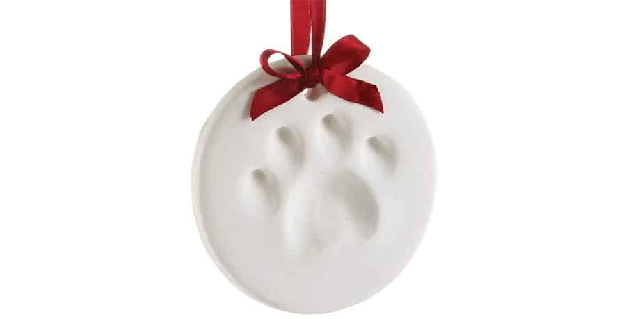 cat paw ornament