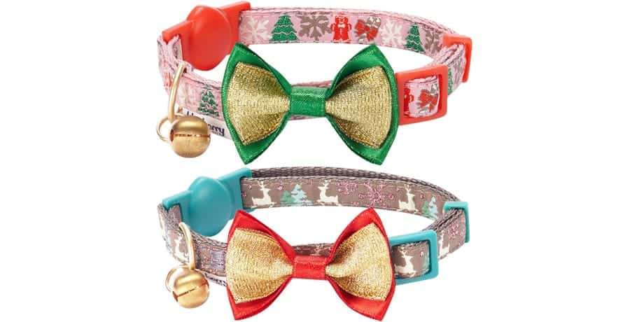 cat christmas collar
