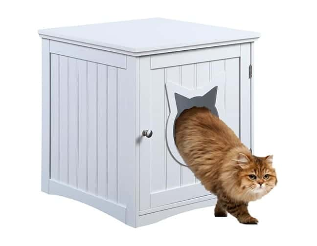 Cat House Side Table Enclosure