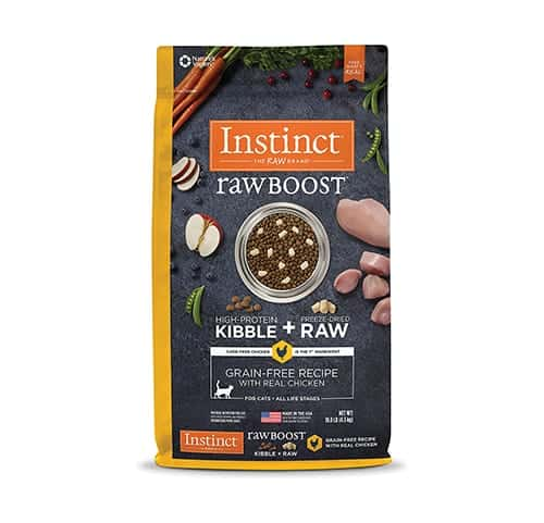 Instinct Raw Boost Grain Free Cat Food Recipe