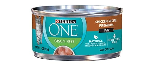 Purina ONE Natural Grain Free Pate Wet Cat Food