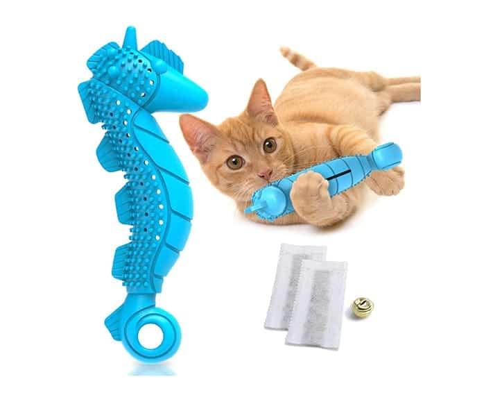 Best kitten teething toys - Ronton Cat Toothbrush Catnip Toy