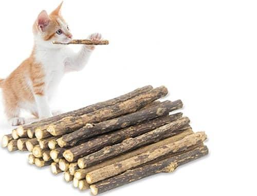 Best kitten teething toys - Yeteng Natural Sticks Molar Chew Toy