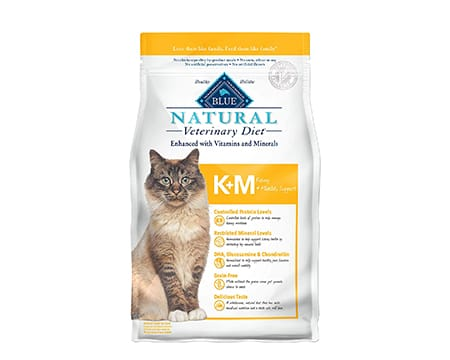 Blue Buffalo Natural Veterinary Diet Kidney + Mobility Dry Cat Food
