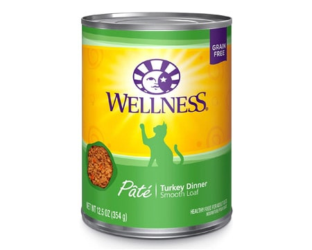 wellness complete canned cat food
